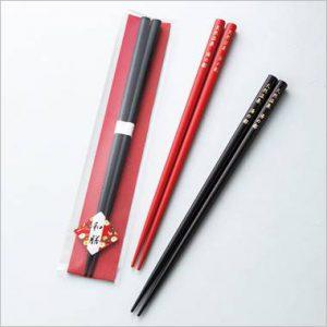 オリジナル和膳塗箸イメージ